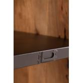Armadio in legno Uain con quattro cassetti, immagine in miniatura 5