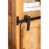 Armadio in legno Uain con quattro cassetti, immagine in miniatura 6