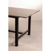 Tavolo da pranzo in legno di quercia Koatt (180x90 cm), immagine in miniatura 4