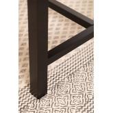 Tavolo da pranzo in legno di quercia Koatt (180x90 cm), immagine in miniatura 6