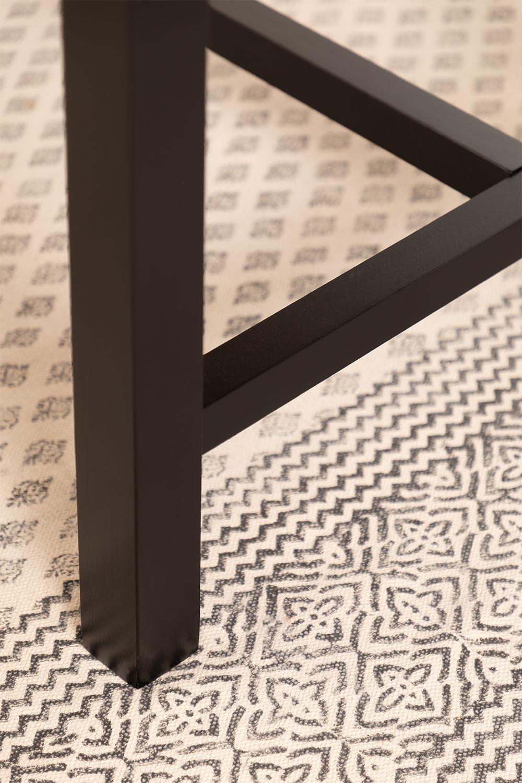 Tavolo da pranzo in legno di quercia (180x90 cm) Koatt - SKLUM