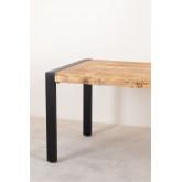 Tavolo da pranzo in legno Acki, immagine in miniatura 3