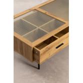 Tavolino in MDF e Vetro Ipek, immagine in miniatura 4