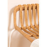 Sgabello alto in rattan sintetico Aroa, immagine in miniatura 6