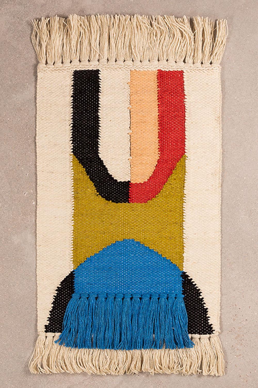 Tappeto in cotone e iuta (90x60 cm) Tyzon, immagine della galleria 1