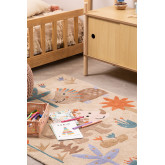 Tappeto in cotone (135x100 cm) Jungli Kids, immagine in miniatura 1