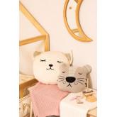 Cuscino rotondo in cotone per bambini Anuky, immagine in miniatura 6
