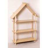 Mensola Zita Kids con 3 ripiani in legno, immagine in miniatura 2