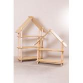 Mensola Zita Kids con 3 ripiani in legno, immagine in miniatura 6