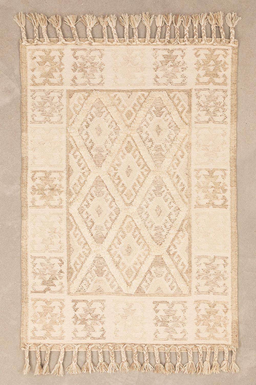 Tappeto in lana e cotone (205x140 cm) Takora, immagine della galleria 1