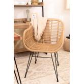 Tappeto in lana e cotone (205x140 cm) Takora, immagine in miniatura 5