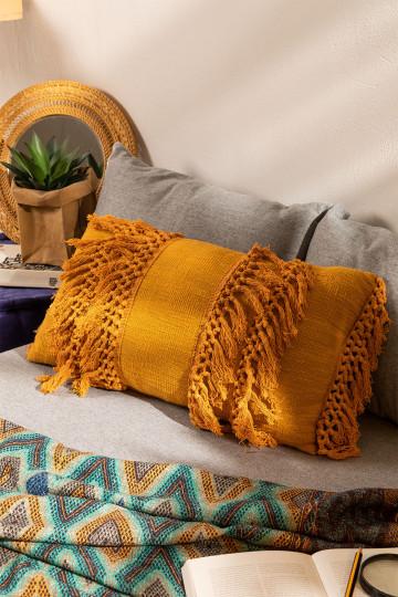 Federa cuscino rettangolare in cotone (34x58 cm)  Rahnd