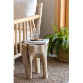 Tavolino in legno Tekka, immagine in miniatura 1