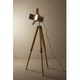 Lampada da terra a treppiede metallizzata Cinne, immagine in miniatura 4