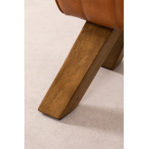 Panca in pelle Aldra, immagine in miniatura 6