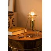Lampada da tavolo Metallizzata Kate , immagine in miniatura 2