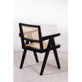 Sedia Lali Wood con Braccioli, immagine in miniatura 4