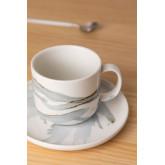 Set 4 Tazzine da Caffè con Piatto in Porcellana Boira, immagine in miniatura 2