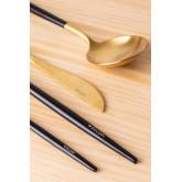 Posate metalliche Noya Colors 16 Pezzi, immagine in miniatura 4