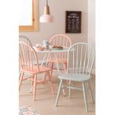 Sedia da pranzo in legno Lorri Colors, immagine in miniatura 1