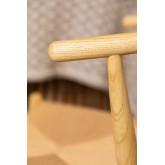 Sedia da pranzo in legno Uish Retro , immagine in miniatura 6