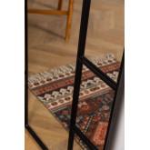 Specchio da Parete in Metallo Effetto Finestra (180x80 cm) Diana, immagine in miniatura 5