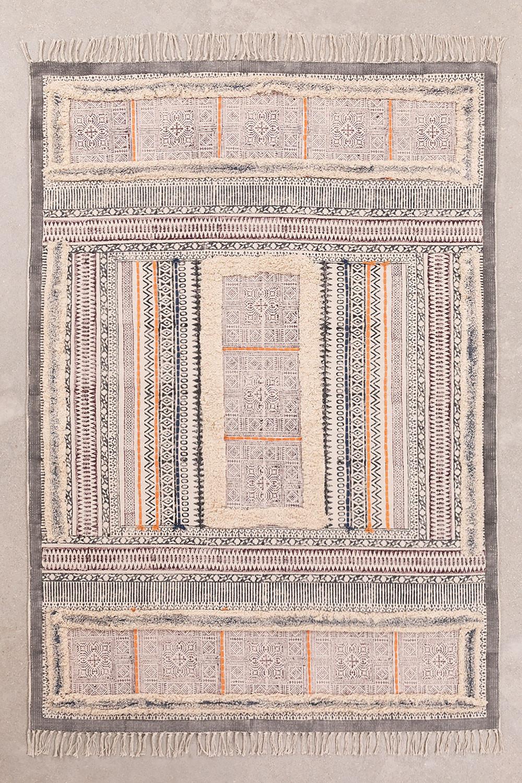 Tappeto in cotone (185x125 cm) Smit, immagine della galleria 1