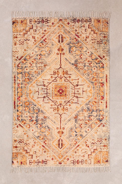 Tappeto in cotone (180x115 cm) Raksi, immagine della galleria 1