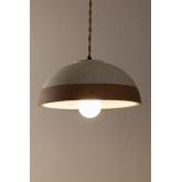 Lampada da soffitto in porcellana Eilys, immagine in miniatura 4
