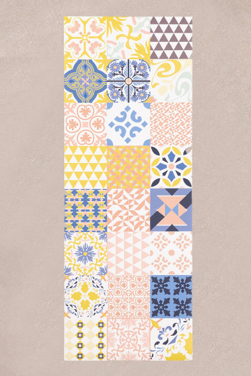 Tappeto in vinile (135x50 cm) Zule