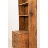 Credenza in legno riciclato Jara, immagine in miniatura 3
