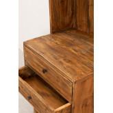 Credenza in legno riciclato Jara, immagine in miniatura 4