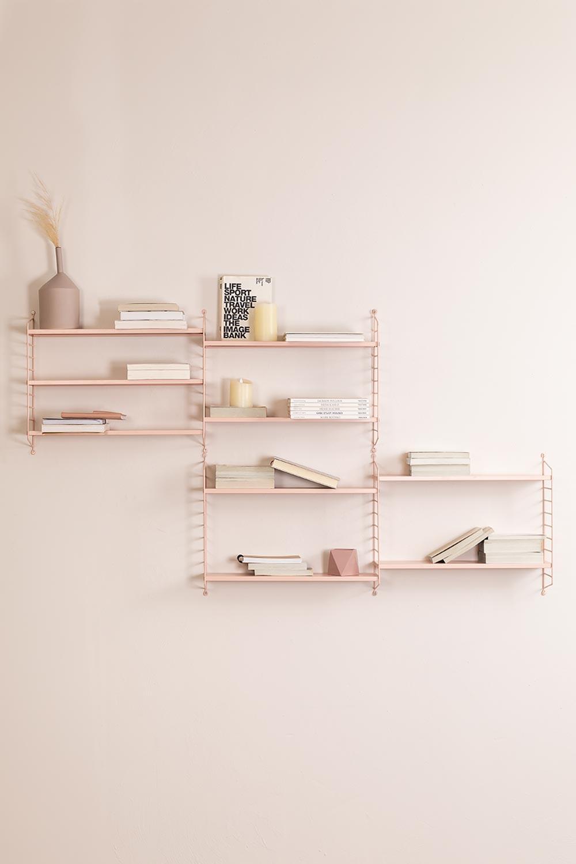 Scaffale da parete modulare Emine, immagine della galleria 1