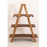 Scaffalatura in legno riciclato Anpers, immagine in miniatura 3