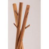 Appendiabiti Varah in legno riciclato, immagine in miniatura 3