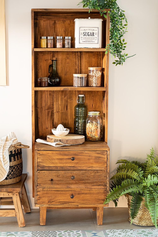 Credenza in legno riciclato Jara, immagine della galleria 1