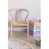 Sedia in Legno Mini Uish Kids, immagine in miniatura 1