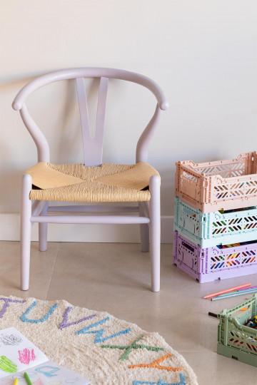 Sedia Uish per bambini in legno