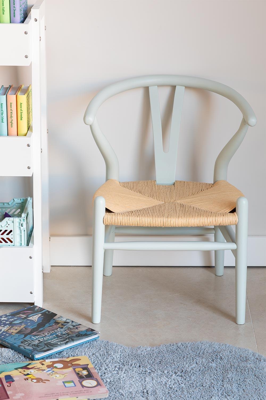 Mini sedia di legno per bambini Uish , immagine della galleria 1