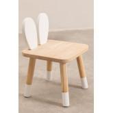 Sedia in legno per bambini Buny, immagine in miniatura 2