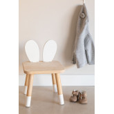 Sedia in legno per bambini Buny, immagine in miniatura 1