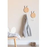 Appendiabiti da parete in legno Buny Kids, immagine in miniatura 1