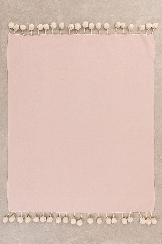 Coperta in cotone scozzese Olis, immagine della galleria 1