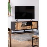 Mobile TV in legno Bavi, immagine in miniatura 1