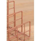 Portariviste in metallo a scomparti Bok, immagine in miniatura 4