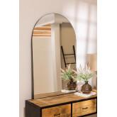 Specchio da parete in metallo (120x77 cm) Ingrid, immagine in miniatura 1