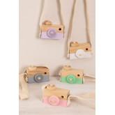Macchina fotografica in legno di pino Nakom Kids, immagine in miniatura 5