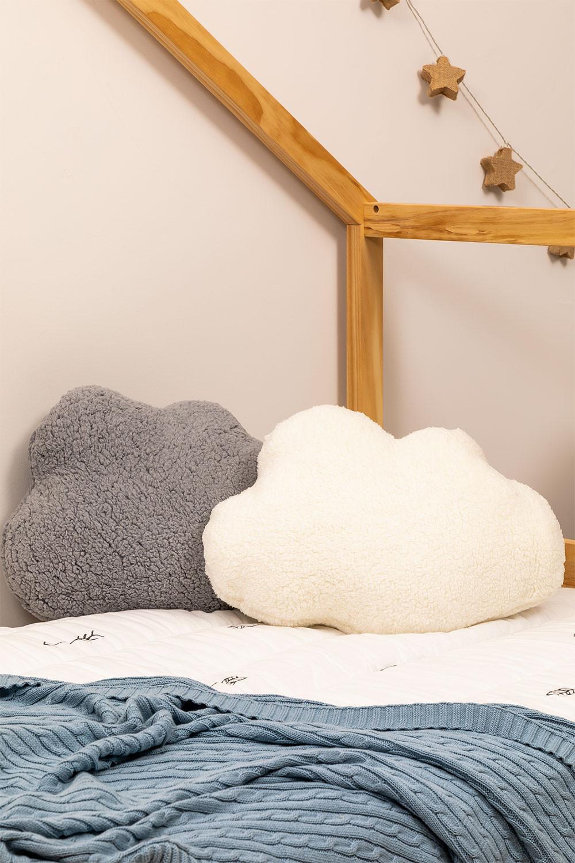 Cuscino Lily Kids in cotone, immagine della galleria 1