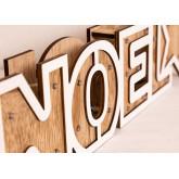 Scritta in legno con luci Led Noel, immagine in miniatura 5