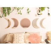 Specchi da parete in legno 5 pezzi Estel, immagine in miniatura 1